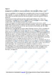 Convenienceprodukter   Redegørelse   10 i karakter