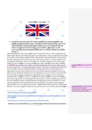 Great Britain   Area study   10 i karakter