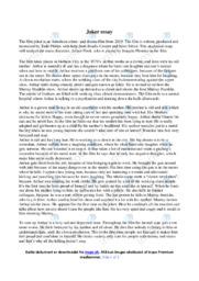 Joker   Analytical essay   10 i karakter