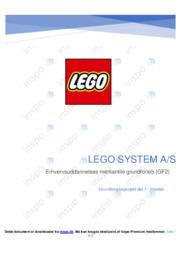 Lego system AS   Analyse   10 i karakter