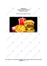 Fast food markedet i Danmark | Noter