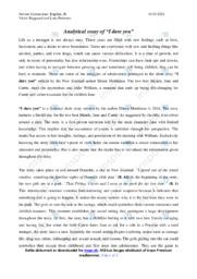 Engelsk stx 12 | I dare you | Analytical essay | 12 i karakter