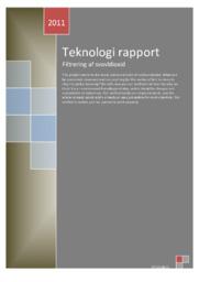 Teknologirapport – Filtrering af svovldioxid