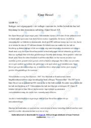 Ejner Hessel | Analyse | 10 i karakter