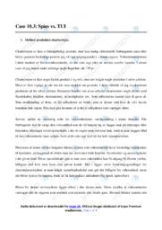 Spies vs. TUI | Analyse | 10 i karakter