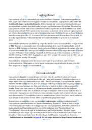 Lagkagehuset | Analyse | 12 i karakter