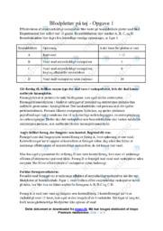 Blodpletter på tøj | Biologi | 12 i Karakter