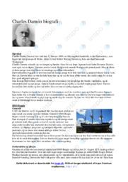 Charles Darwin biografi | Opgave | 12  i karakter
