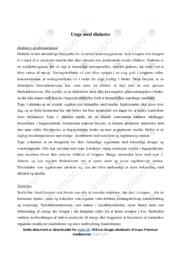 Unge med diabetes | Biologi | 12 i Karakter