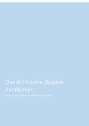 Pandemier | DHO | 10 i karakter