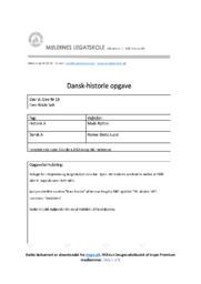 Arbejdernes og Borgerskabvets Levevilkår | DHO | 10 i Karakter
