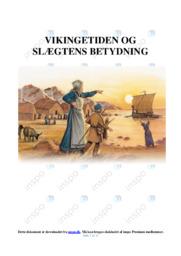 Vikingetiden & Slægtens Betydning | DHO | 10 i Karakter