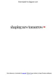 Shaping New Tomorrow | Analyse 12 i karakter