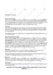 Konkurrencetrekanten | DSO | 10 i karakter