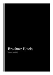 Brøchner Hotels | Erhvervscase | 10 i Karakter