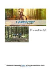 Cykelpartner ApS | Erhvervscase | 10 i Karakter