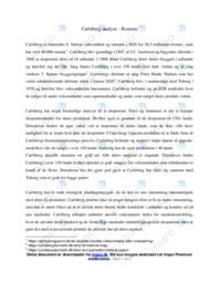 Carlsberg   Analyse   10 i karakter