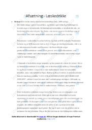 Læskedrikke | Analyse | 10 i karrakter