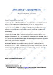 Lagkagehuset | Analyse | 10 i karakter