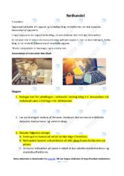 Nethandel   Analyse   10 i karakter