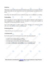 Louis Vuitton | Analyse | 12 i karakter