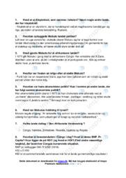 Kleptokrati | Opgave | 10 i karakter