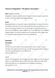 VW-reklame | Opgave | 10 i karakter