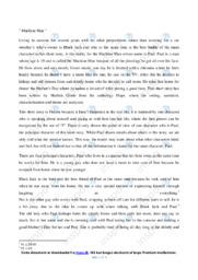 Machine Man   Analytical essay   10 i karakter