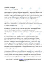 Køn og Identitet   Dansk Essay   10 i Karakter