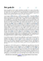 Det Kolossale Menneske   Analyse   Thomas Blachman