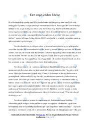 Den unge soldats lidelse | Analyse | Kasper Colling Nielsen