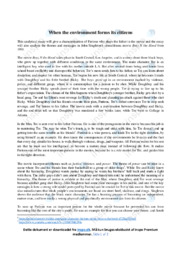 Boyz N the Hood | Analyse | John Singleton | 10 i Karakter