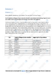De-Luxe Model   Analyse   Adam Thorpe   10 i Karakter