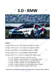 BMW | Afsætning | 10 i Karakter