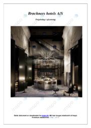 Brøchners Hotels AS | Afsætning | 10 i Karakter