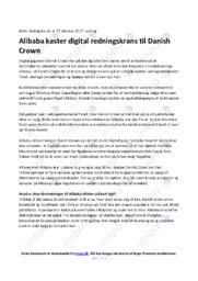 Danish Crown | Afsætning | 10 i Karakter