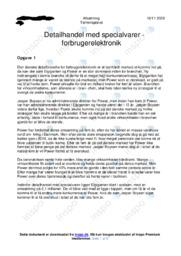Den danske detailbranche   Afsætning Case   10 i Karakter