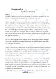 Det Danske ølmarked | Brancheanalyse | 10 i Karakter
