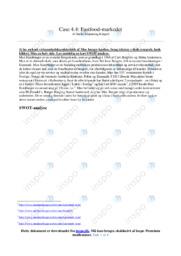Fastfood-markedet   Afsætning Case   10 i Karakter