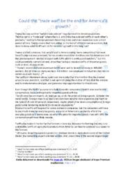 The unfair trade policies | Essay