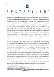 The ceo of Bestseller | Speech | 12 i karakter