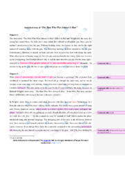 The Man Who Was Almost A Man   Analytical essay   12 i karakter