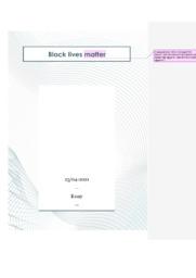 Black lives matter   Engelsk Essay   10 i Karakter