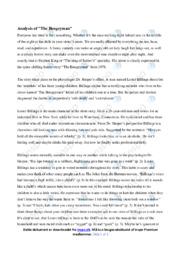 The Boogeyman   Analytical essay   10 i karakter