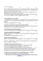 En gamling lægger op   Analyse   Dansk   10 i karakter