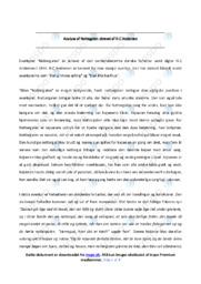Nattegalen | Analyse | H.C Andersen | 10 i Karakter