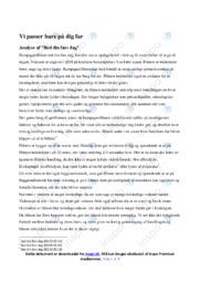 Red din fars dag | Analyse | Dansk | 10 i karakter