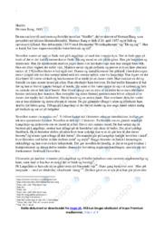 Skuffet | Analyse | Herman Bang | 10 i Karakter