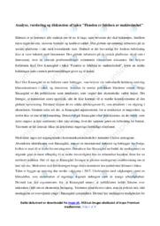Klimaet    Analyse   12 i karakter