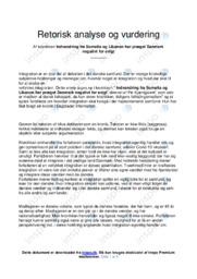 Indvandring fra Somalia og Libanon har præget… | Analyse